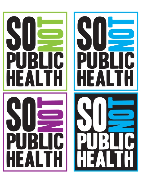 So Not Public Health's Twitter Logo