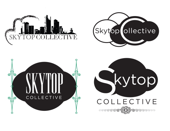 First proposal for Skytop Collective's new logo