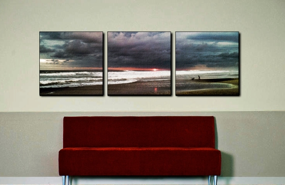 Photos of the Sunset on Canvas