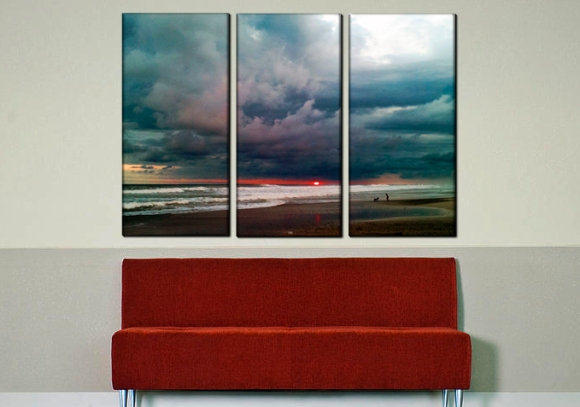 Triptych Sunset